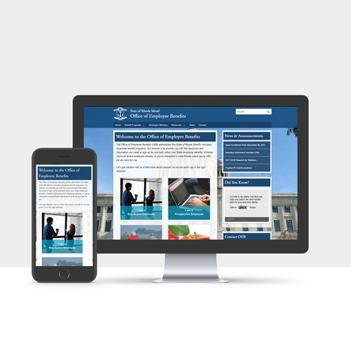 OEB website redesign